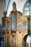 L'orgue de l'église d'Orgelet
